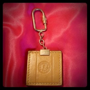 Authentic Vintage Fendi Keychain